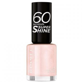 Rimmel Lak na nehty 60 Seconds Super Shine 8 ml 300 Glaston-Berry By Rita Ora