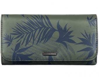 Roxy Peněženka My Long Eyes Indo Floral Dusty Olive ARJAA03103-GPB6