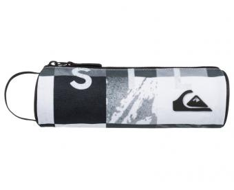 Quiksilver Penál Pencil Print BP Check Remix Black EQYAA03123-KVJ1