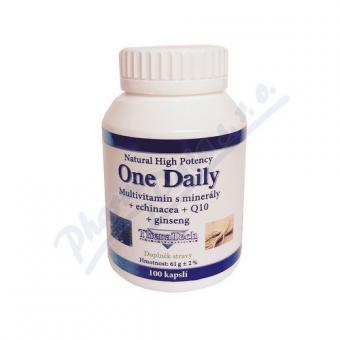 ALIER SPOL.S R.O. TheraTech 04 One Daily vit.+min.+echi.+Q10 cps.100